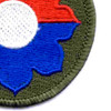 9th Infantry Division Patch River Raiders | Lower Right Quadrant