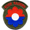 9th Infantry Division Patch River Raiders