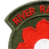 9th Infantry Division Patch River Raiders | Upper Left Quadrant