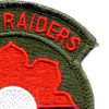 9th Infantry Division Patch River Raiders | Upper Right Quadrant