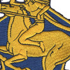 9th Cavalry Regiment Patch | Center Detail