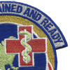 622nd Aeromedical Staging Squadron Patch   Upper Right Quadrant