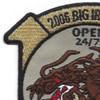 969th Field Artillery Battalion OIF Patch | Upper Left Quadrant
