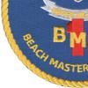 Beach Master Unit One Patch United We Land   Lower Left Quadrant