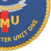Beach Master Unit One Patch United We Land   Lower Right Quadrant