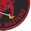 621st Contingency Response Wing-Devil Raiders Mobility Masters Patch | Lower Right Quadrant
