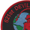 621st Contingency Response Wing-Devil Raiders Mobility Masters Patch | Upper Left Quadrant