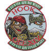 B Company 1st Battalion 52nd Aviation Regiment Sugar Bears Hook OEF XIV Patch