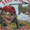 B Company 1st Battalion 52nd Aviation Regiment Sugar Bears Hook OEF XIV Patch   Center Detail