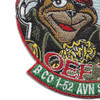 B Company 1st Battalion 52nd Aviation Regiment Sugar Bears Hook OEF XIV Patch   Lower Left Quadrant