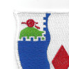 61st Infantry Regiment Patch The Best Lead The Rest   Upper Left Quadrant