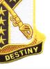 61st Cavalry Regiment Patch