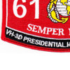 6179 Vh-3D Presidential Helo Crew Chief MOS Patch | Lower Left Quadrant