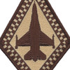 93rd Fighter Squadron Desert Diamond Patch | Center Detail