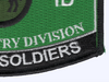92nd Infantry Division Hat Patch