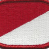 91st Cavalry Regiment 1st Squadron Oval Patch | Center Detail