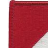 91st Cavalry Regiment 1st Squadron Flash Patch | Upper Left Quadrant