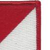 91st Cavalry Regiment 1st Squadron Flash Patch | Upper Right Quadrant