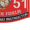 8551 Close Combat Instructor MOS Patch | Lower Right Quadrant