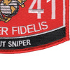 8541 Scout Sniper MOS Patch | Lower Right Quadrant
