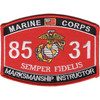8531 Marksmanship Instructor MOS Patch