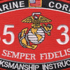 8531 Marksmanship Instructor MOS Patch | Center Detail