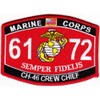6172 CH-46 Crew Chief MOS Patch