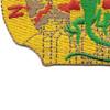 84th Engineering Battalion Crest Patch | Lower Left Quadrant