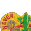 84th Engineering Battalion Crest Patch | Upper Left Quadrant