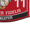 8411 Recruiter MOS Patch | Lower Right Quadrant
