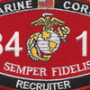 8411 Recruiter MOS Patch | Center Detail