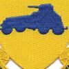 82nd Reconnaissance Combat Battalion Patch   Center Detail