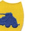 82nd Reconnaissance Combat Battalion Patch   Upper Right Quadrant