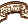 82nd LRS Airborne Infantry Desert Patch   Center Detail