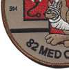 82nd Aviation Medical Company Patch | Lower Left Quadrant