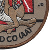 82nd Aviation Medical Company Patch | Lower Right Quadrant