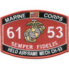 6153 Helo Airframe Mech CH-53 Patch