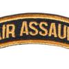 Air Assault Military Tab | Center Detail