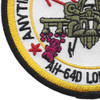 AH-64D Longbow Aviation Attack Helicopter Patch | Lower Left Quadrant