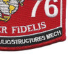 6076 MOS Equipment Hydraulic Structures Mech. Patch   Lower Right Quadrant
