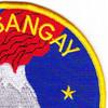 AE-10 USS Sangay Patch | Upper Right Quadrant