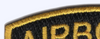 Army Airborne Rocker Gold Letters Patch