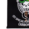 Army 1st Special Forces Group Airborne OIF And OEF Patch | Lower Left Quadrant