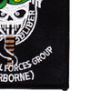 Army 1st Special Forces Group Airborne OIF And OEF Patch | Lower Right Quadrant