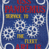ARL-18 USS Pandemus Patch | Center Detail