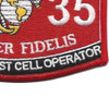 6035 Jet Engine Test Cell Operator MOS Patch | Lower Right Quadrant