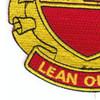 600th Field Artillery Battalion Patch | Lower Left Quadrant