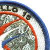 Apollo 15 Space Mission Patch   Upper Right Quadrant