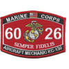 6026 Aircraft Mechanic KC-130 MOS Patch