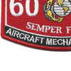 6026 Aircraft Mechanic KC-130 MOS Patch | Lower Left Quadrant